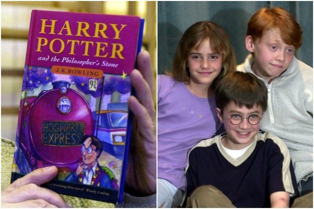 """Il ventennale dell'uscita di """"Harry Potter e la Pietra Filosofale""""."""
