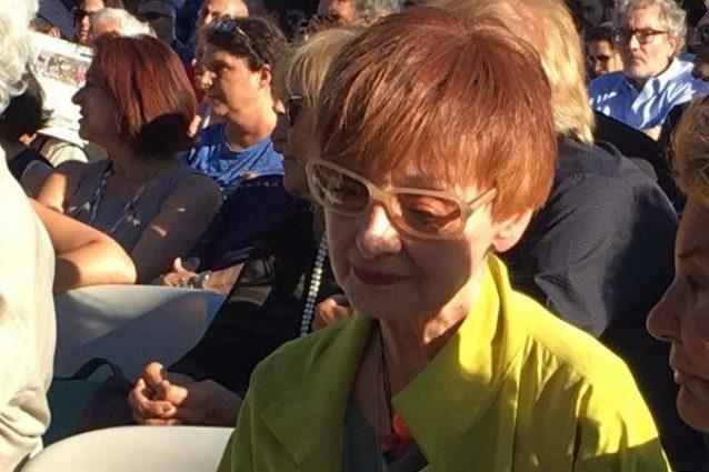 """Milena Vukotic commossa ai funerali di Paolo Villaggio: """"Pina amava Fantozzi, gli sono grata"""""""