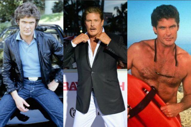"""David Hasselhoff, la star di """"Supercar"""" e """"Baywatch"""" festeggia 65 anni"""