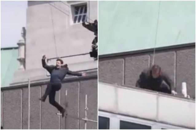 Infortunio per Tom Cruise in Mission: Impossible 6, l'attore ferito dopo il salto da un palazzo