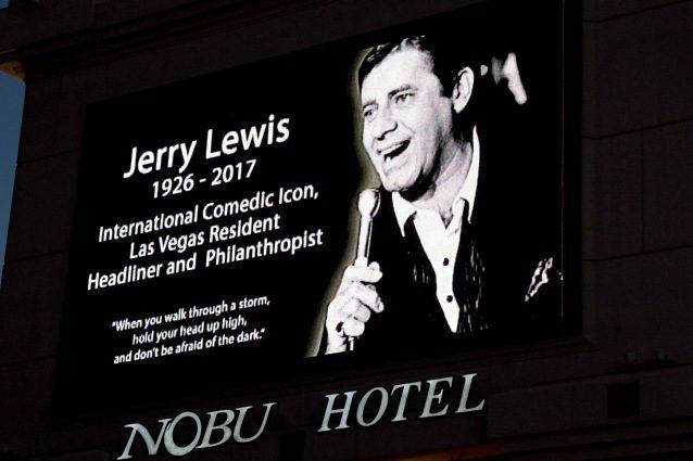 Rese note le cause della morte di Jerry Lewis: è stato vittima di una cardiomiopatia ischemica