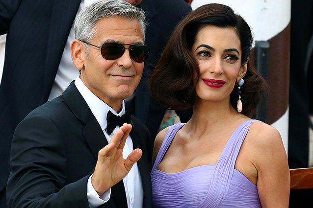 """George Clooney e Amal protagonisti della quarta giornata a Venezia per """"Suburbicon"""""""