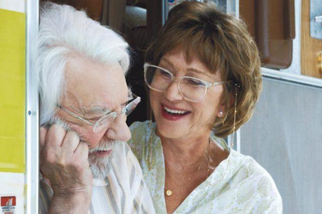 """""""The Leisure Seeker"""" emoziona, applausi per il film di Virzì con Helen Mirren e Donald Sutherland"""