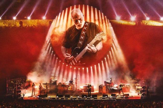 """David Gilmour – Live at Pompeii"": l'epico film concerto al cinema per 3 giorni"