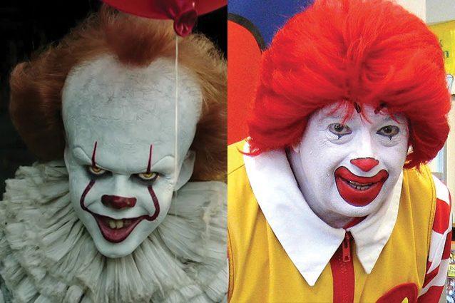 """La pubblicità di It fa arrabbiare Burger King: """"Somiglia troppo a Ronald McDonald's"""""""