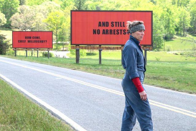 """""""Tre Manifesti a Ebbing, Missouri"""", il film di Martin McDonagh in concorso a Venezia 74"""