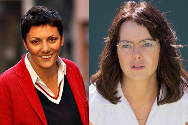Sarà Imma Battaglia a sostenere 'La battaglia dei sessi' in Italia