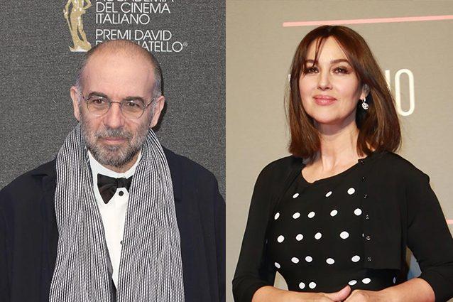 Monica Bellucci bacia Tornatore e lo difende dalle accuse di molestie