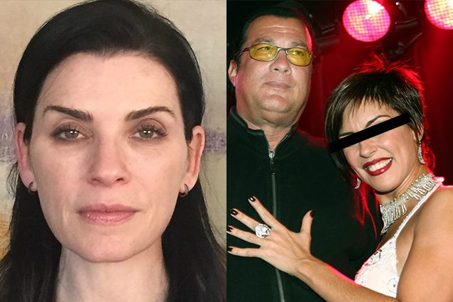 Julianna Marguiles contro Harvey Weinstein e Steven Seagal