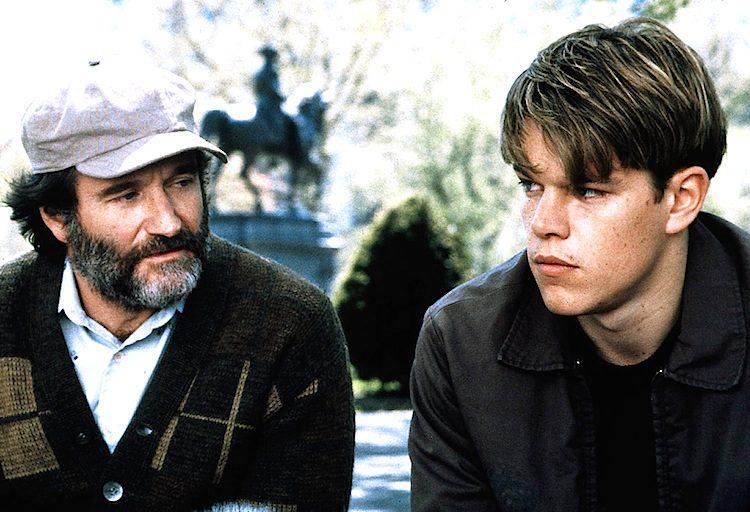"""""""Will Hunting – Genio ribelle"""", il film con Matt Damon e Robin Williams usciva 20 anni fa"""