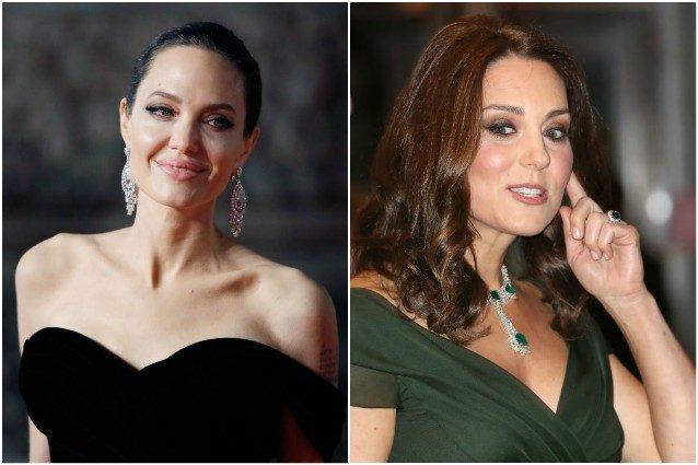 Dive in nero ai BAFTA 2018 per causa molestie, fa discutere l'abito verde di Kate Middleton