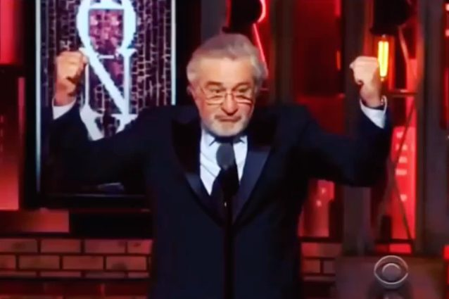 Robert De Niro insulta...