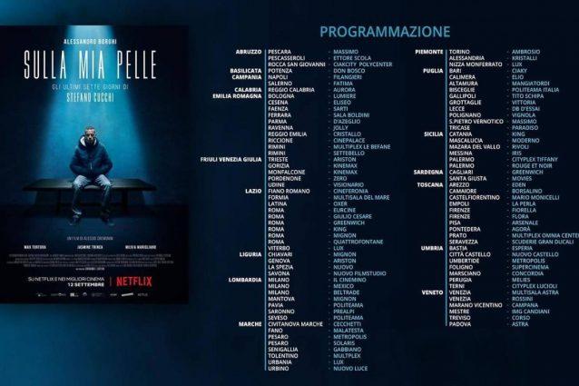 Cinema Flora, Alessandro Borghi presenta