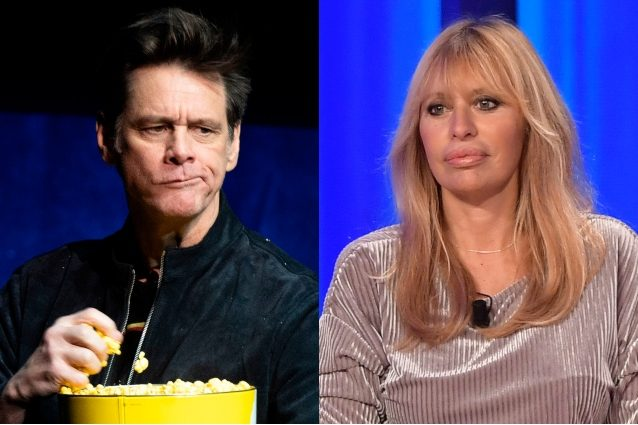 Alessandra Mussolini replica di nuovo a Jim Carrey con una maschera insanguinata