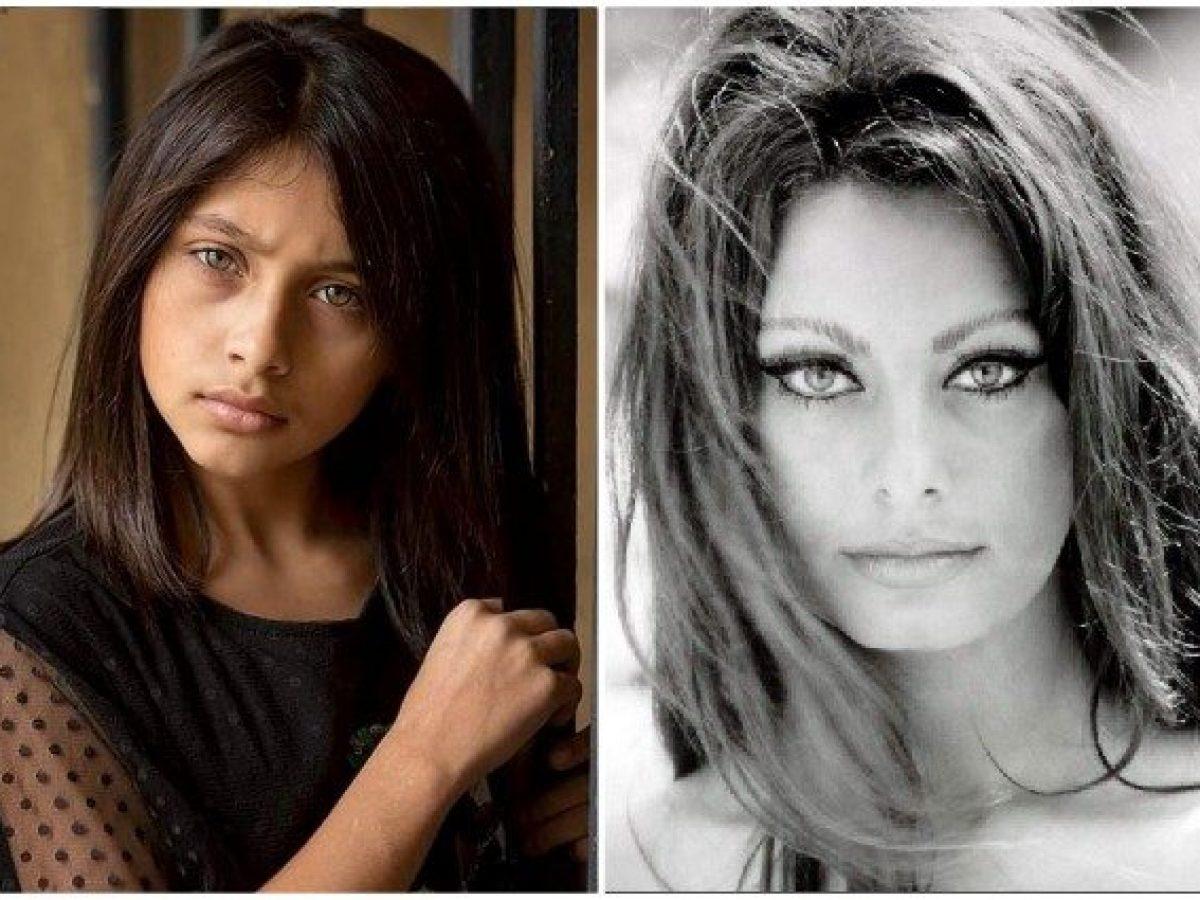 La Piccola Lila De L Amica Geniale Fa Gli Auguri Di Compleanno A Sophia Loren