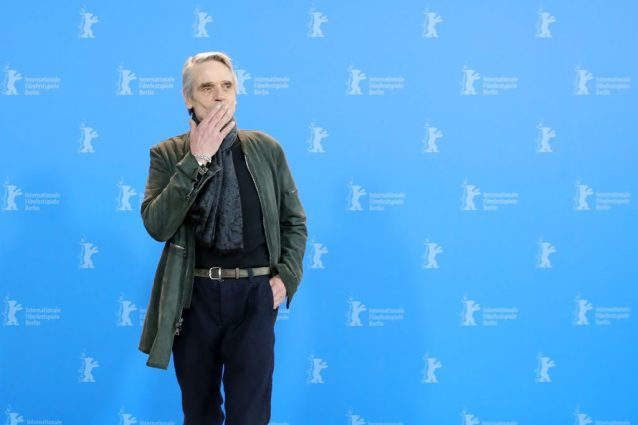 """Il discorso di Jeremy Irons alla Berlinale: """"Supporto i diri"""