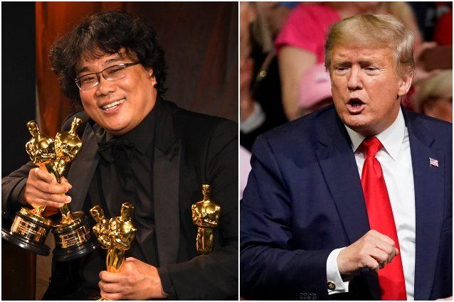 Donald Trump contro l'Oscar a Parasite, la produzione del fi