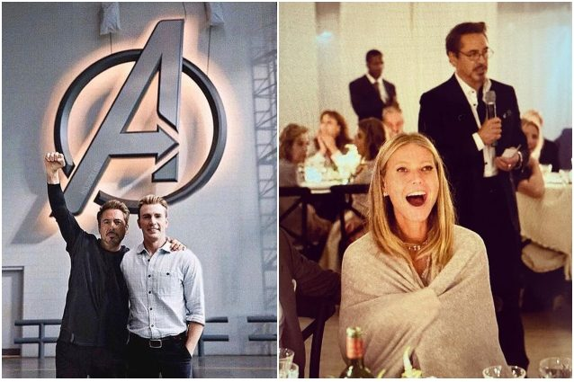 "Gli Avengers ""riuniti"" per i 55 anni di Robert Downey Jr, vo"