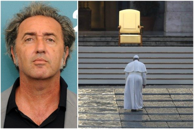 """Paolo Sorrentino sul Papa solo a San Pietro: """"Vaticano non h"""