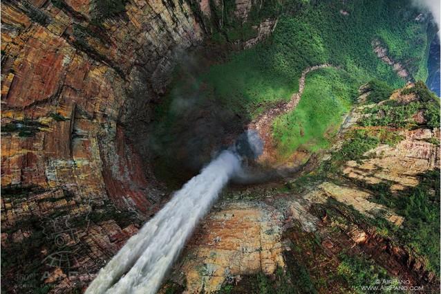 Le meraviglie del mondo viste dall'alto