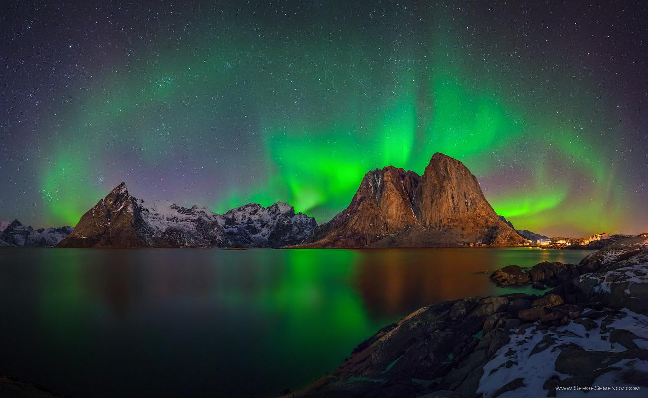 La meravigliosa aurora boreale