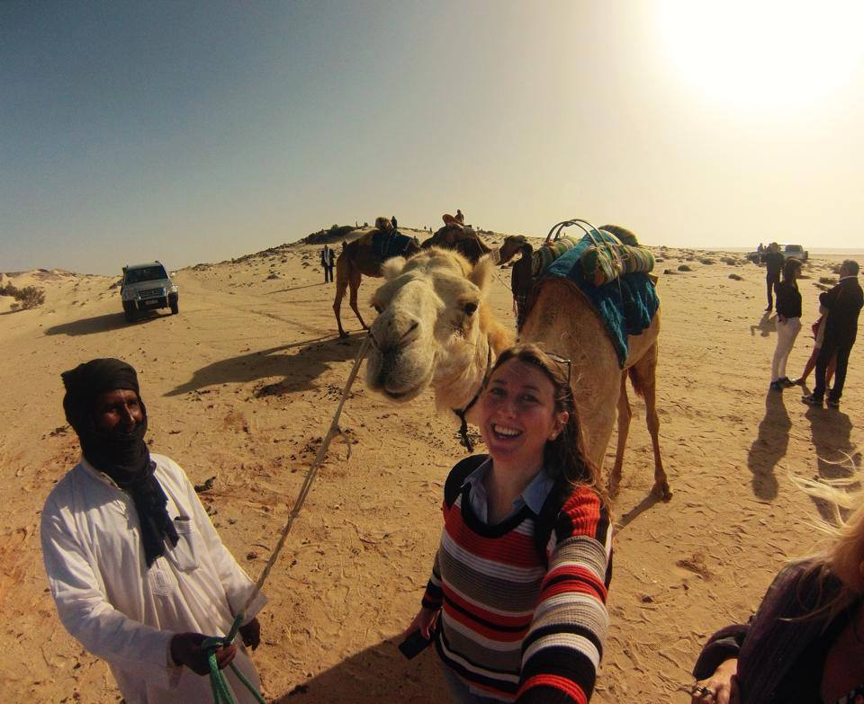 La travelblogger in Marocco Foto: profilo Facebook di Federchicca