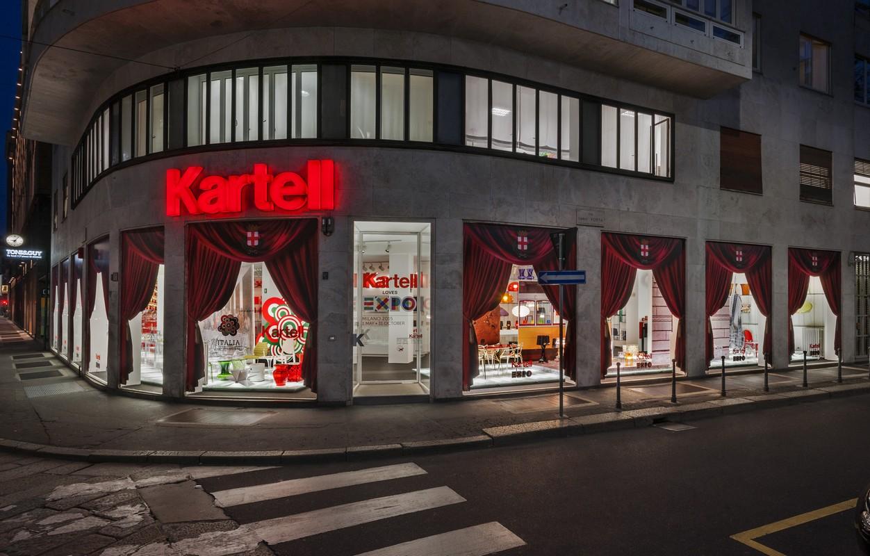 Kartell: il design e i nuovi flagship store | Autori Fanpage
