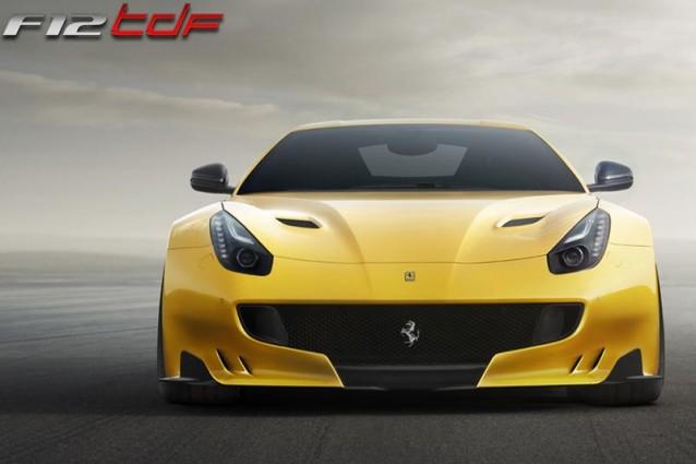 Ferrari F12TDF da 799 esemplari