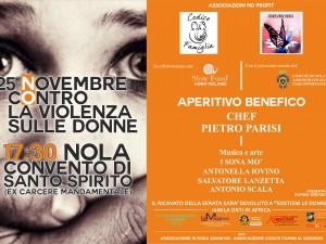 Nola, 25 novembre: un evento di beneficenza, per dire insieme #noallaviolenzasulledonne