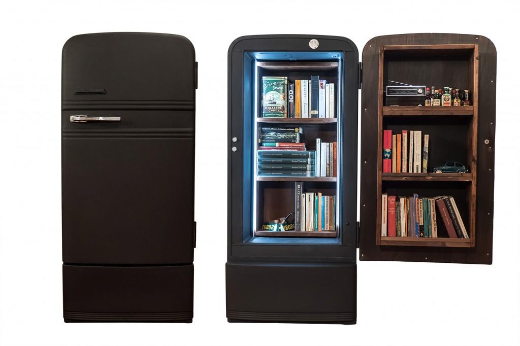 Frigo-Libreria openClosed
