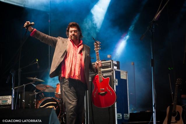 Alan Parsons durante il live a Villa Ada. © Giacomo Latorrata