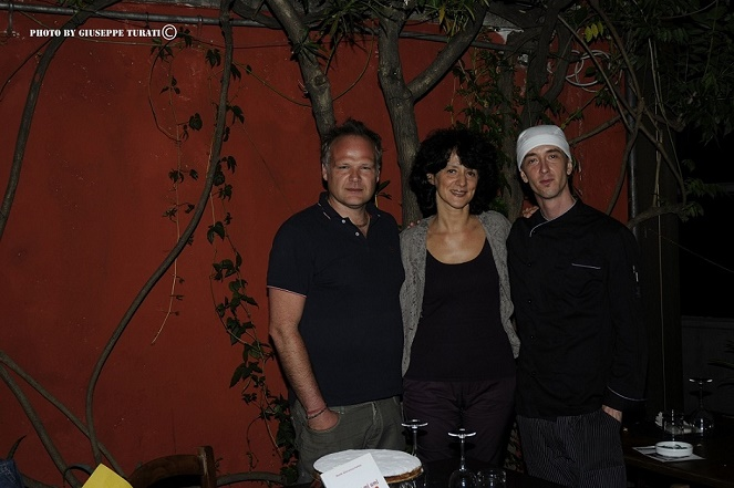 con Lorenzo Bertamé e Uriel Manuel Cosi