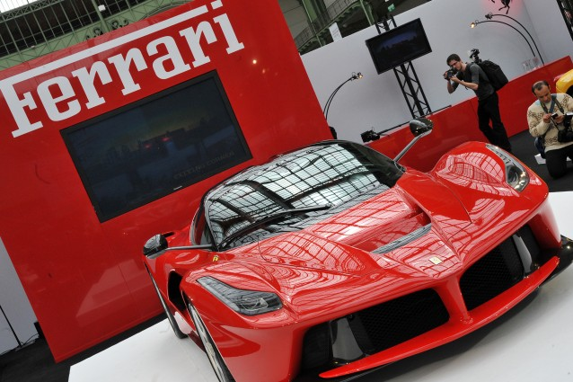 AUTO-SPORTS-FERRARI-LAFERRARI