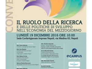 eCampus, Confartigianato Napoli, AISEPS ed AVOC: tavola rotonda per il rilancio del Sud
