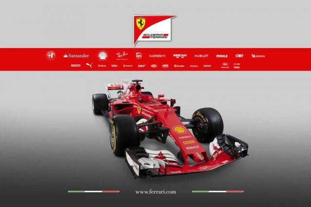 Ecco la Nuova Ferrari SF70H