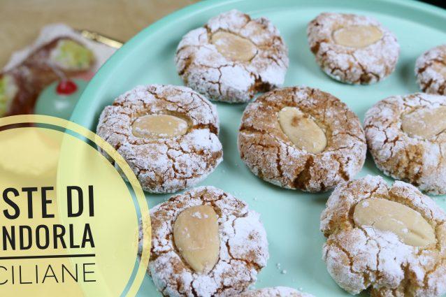 Paste di mandorle Siciliane Ricetta della Tradizione Facile e Veloce Biscotti e Pasticcini