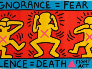 Keith Haring, genio dell'arte neo pop