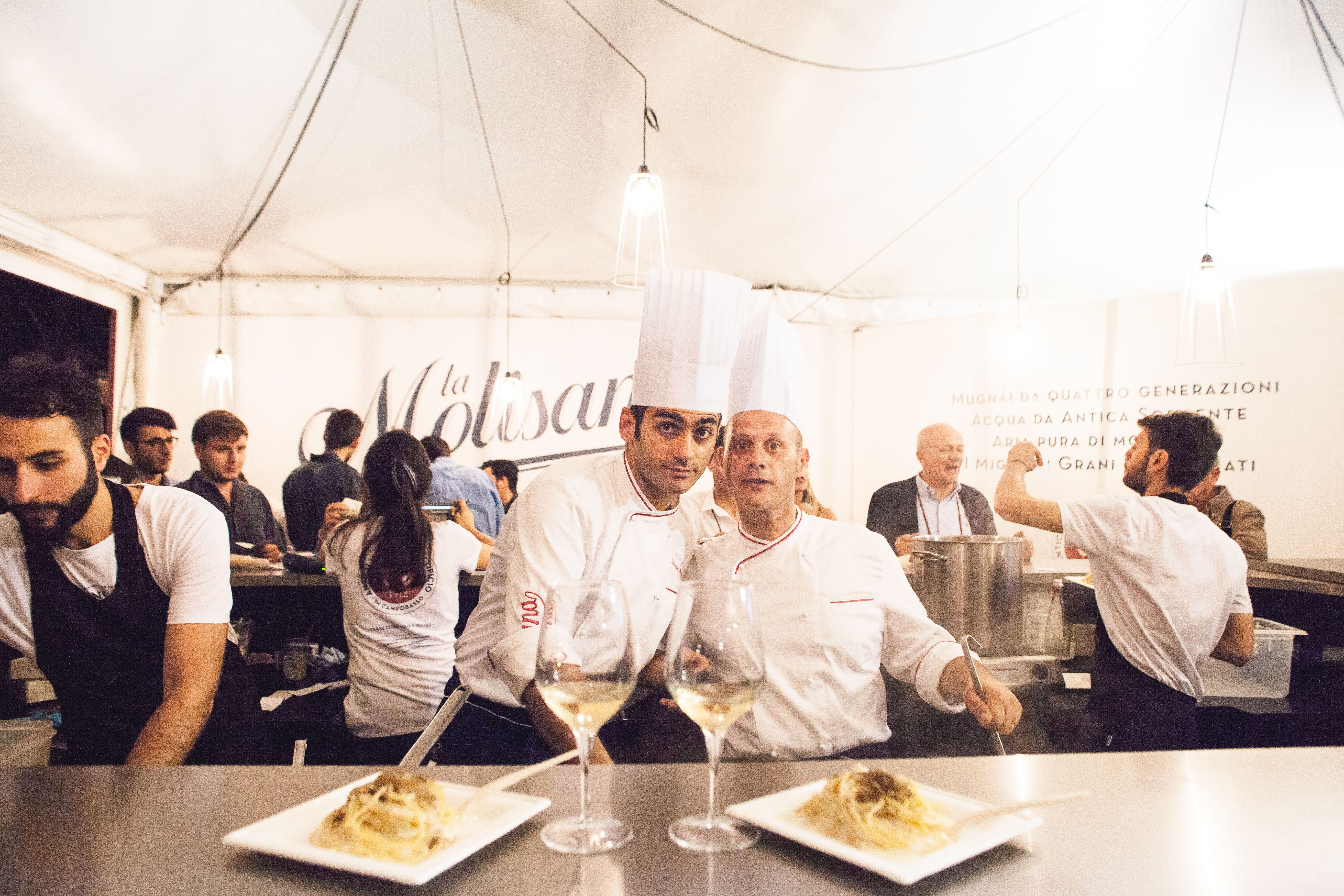 Giuseppe Angino e Francesco Morra. Credits: Giacomo Latorrata