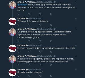 Angelo Andrea vegliante blog fanpage infoatac atac mezzi pubblici Roma dragona X municipio