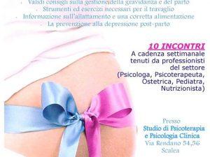 """Corso pre–parto """"In attesa di te"""" studio Falzarone – Rosa (Scalea)"""