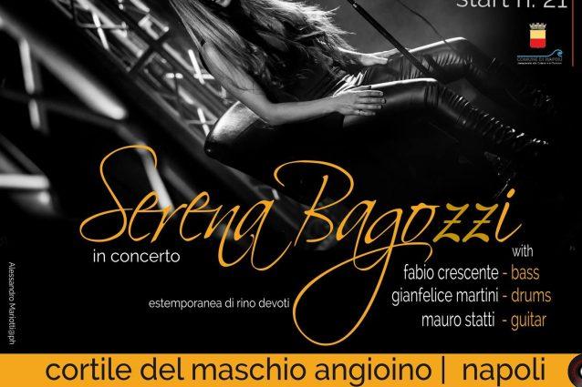 Serena Bagozzi in concerto per Totò