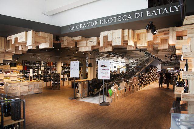 Arriva la nuova Enoteca di Eataly Roma