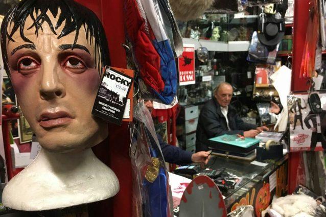 Dario Argento nello store Profondo Rosso