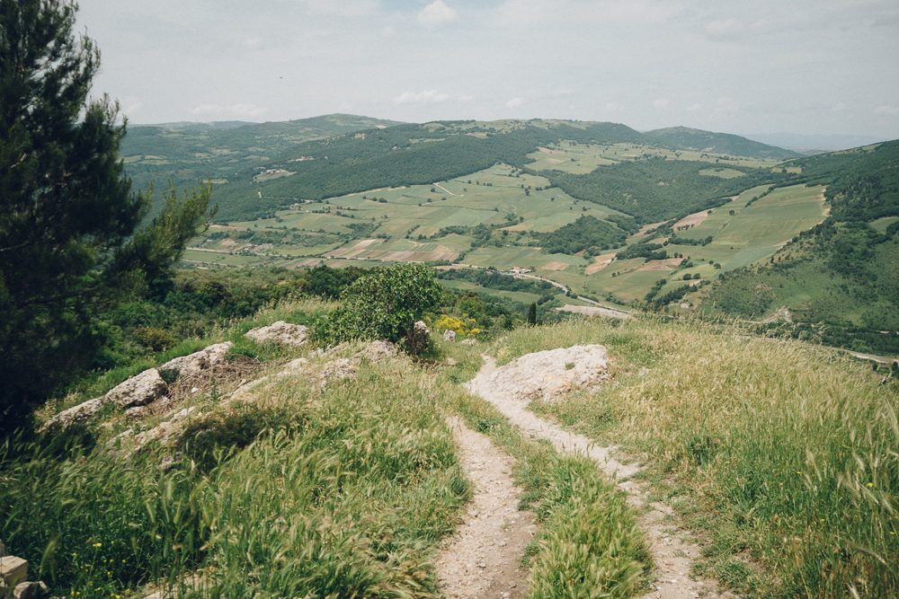 Vista panoramica dal centro di Bovino | Photo: Vince Cammarata