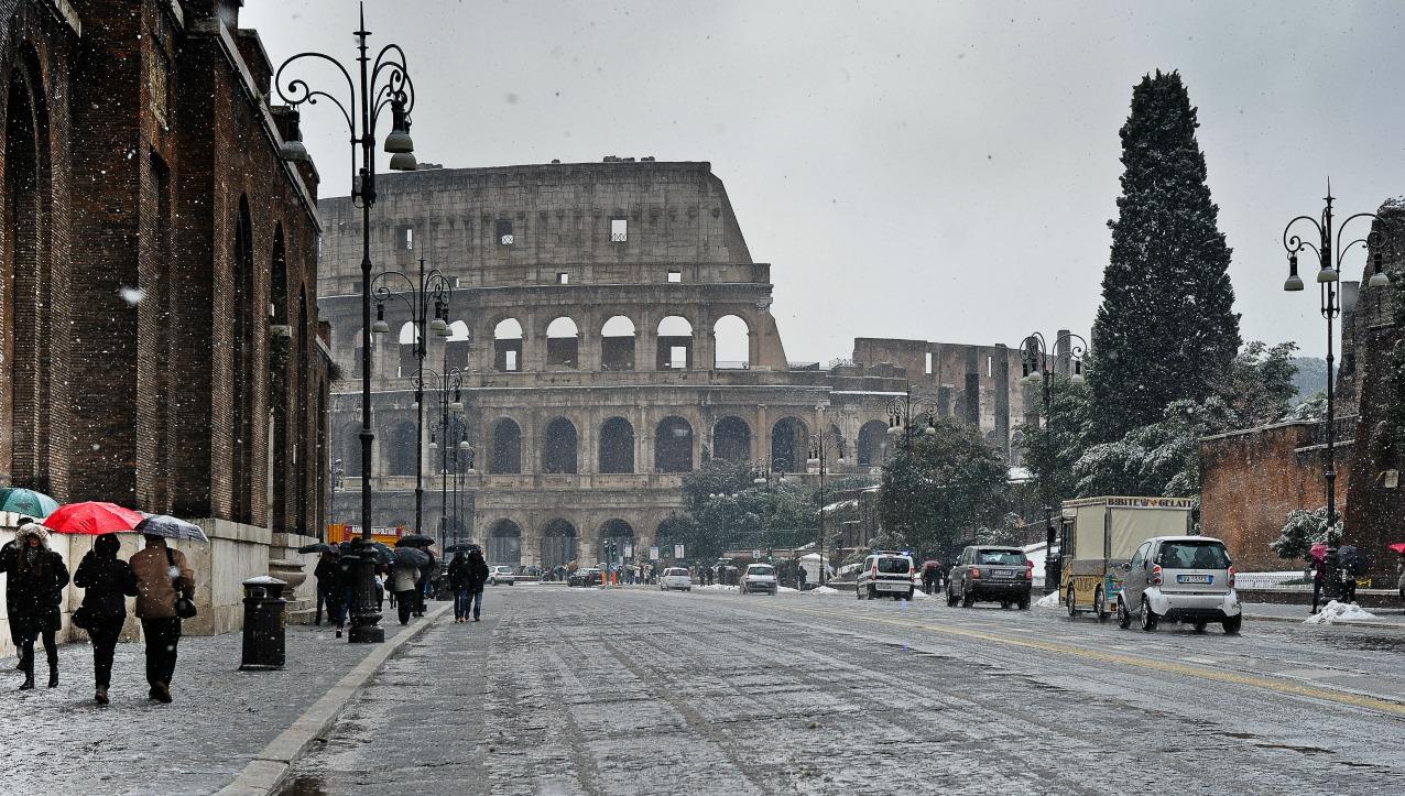 Meteo roma gelo e neve in arrivo - La finestra di fronte roma ...