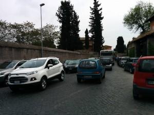 Appia Antica, per l'estate pronta la chiusura al traffico privato