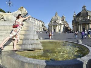 Meteo Roma, arriva il caldo con l'anticiclone Hannibal: temperature vicine ai 30 gradi