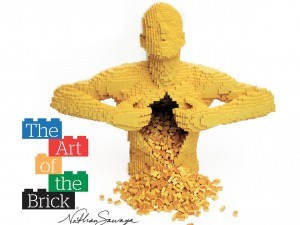 """""""The Art of the Brick"""": quando i mattoncini Lego si trasformano in sculture e opere d'arte"""