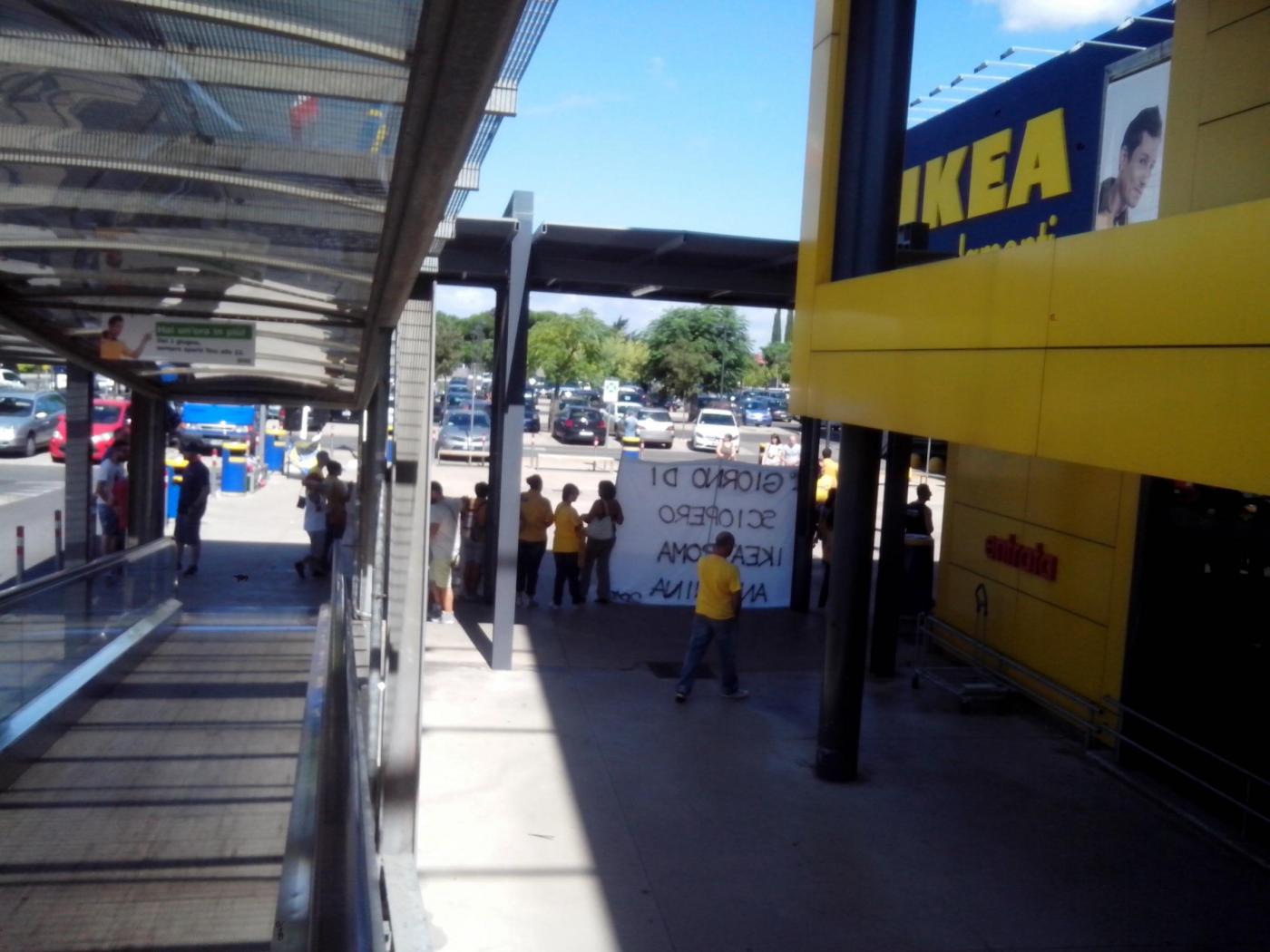 Sabato 19 dicembre scioperano i lavoratori di ikea - Ikea porta di roma telefono ...