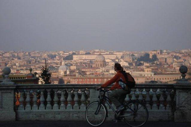 Roma in bicicletta: l'itinerario di quattro tappe tra storia e natura